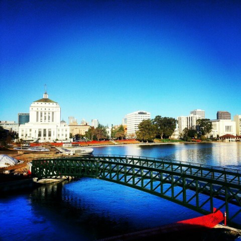 lake merritt bike bridge