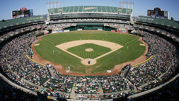 Oakland A s Oakland Coliseum