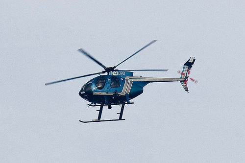 Oakland police helicopter chopper