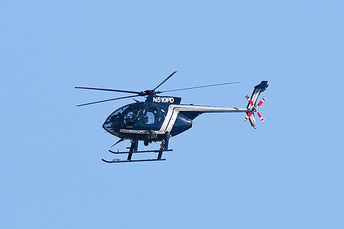 Ghetto Bird Oakland Police