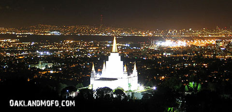 best view of mormon temple