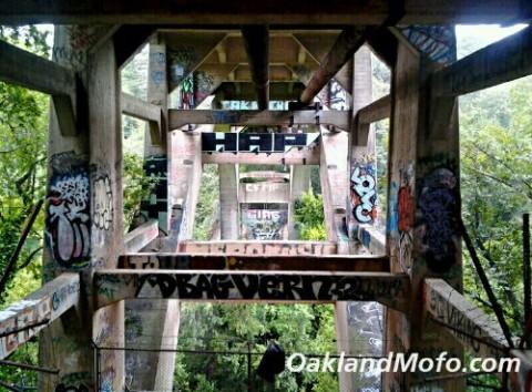 liemert bridge graffiti dimond park blvd oakmore