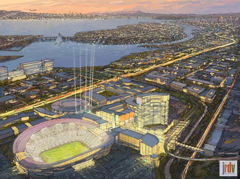 oakland new coliseum city