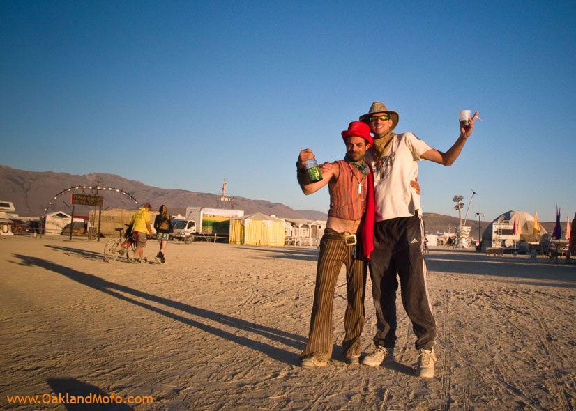 Sun up on the playa