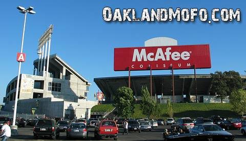 mcafee coliseum oakland