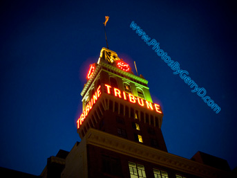 Oakland Tribune Building Tower downtown