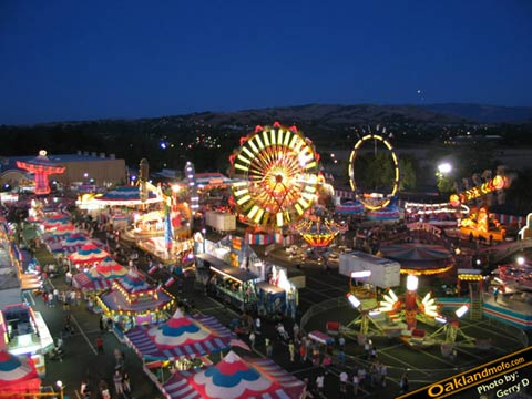 Alameda County Fair Night