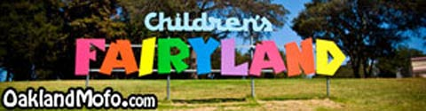 Childrens Fairyland Sign